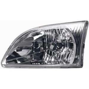 Headlamp Assembly  SIENNA 01 03 Left, Driver Side