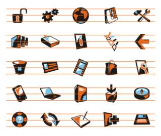ICONS +LOGOS +SYMBOLS CLIPART IMAGES VECTOR CLIP ART CD