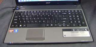 ACER ASPIRE 5551 2036 LAPTOP 2.1GHZ DUAL~3GB RAM~320GB HDD~AS IS~PARTS