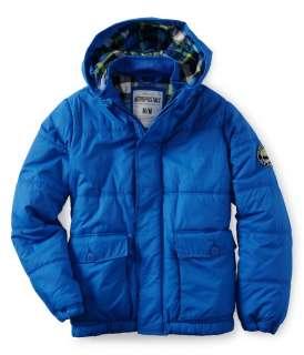 Aeropostale mens Aero NY87 Puffer Jacket   Style # 9828