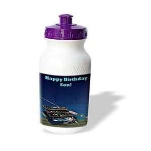 Edmond Hogge Jr Birthdays   Happy Birthday Son   Water Bottles: