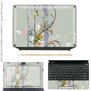 skins STICKER for ASUS Eee PC 1015PEM 1015PED case cover EEE1015 124