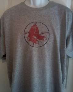 Boston RED SOX 1960s Throwback Logo T Shirt Small