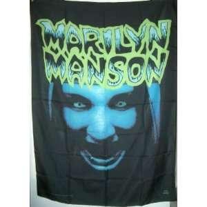 MARILYN MANSON CLOTH FLAG/POSTER