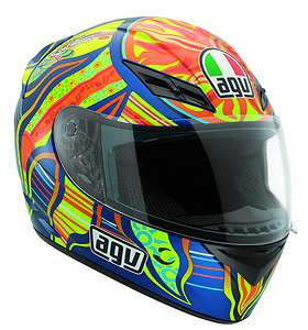 AGV helmet   Type K 3 Rossi 5 Continents size S