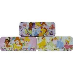 Disney Princesses Metal Tin Pencil Box Case 8   Variety