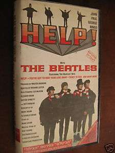 THE BEATLES HELP  ISRAEL PAL RARE HEBREW COVER video 030306708133