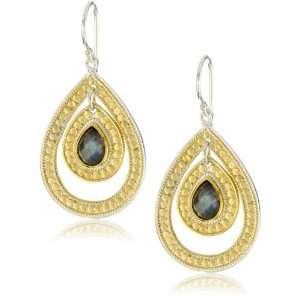 Anna Beck Designs Gili Labradorite Double Drop Earrings