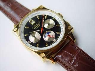 Cronógrafo de Orión de reloj de Wirst. Movimiento 31682. Nuevo.