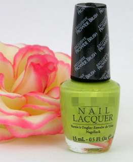 OPI Nail Polish Lacquer Sit Under the Apple Tree Sheer Sparkle Pale