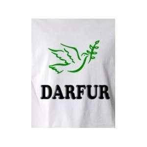 Peace for Darfur   Pop Art Graphic T shirt (Mens Small