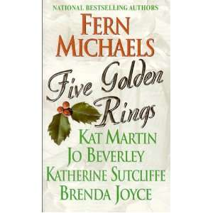 Five Golden Rings (9780821770627) Fern Michael, Kat Martin Books