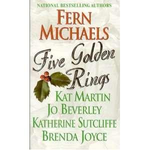Five Golden Rings (9780821770627) Fern Michael, Kat Martin Books