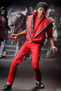 Sideshow Hot Toys 12 1/6 Michael Jackson Thriller Action Figure