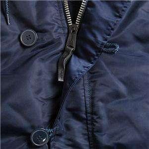 ALPHA INDUSTRIES SLIM FIT N 3B PARKA MAROON/ORANGE COAT XS,S,M,L,XL