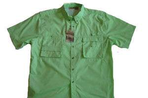 RUGGED EARTH OUTFITTERS Vented Fishing Shirt NWT XL BG