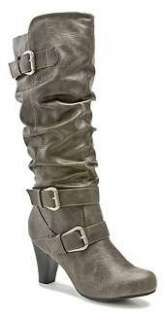 MADDEN GIRL Tall Slouch Boots in Black, Tan and Grey