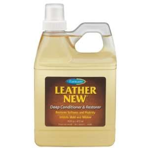 Leather New Deep Conditioner & Restorer   16 ounce: Pet