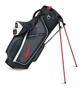 NIKE VAPOR X CARRY Golf Bag   BLACK/UNIVERSITY RED/DARK GREY
