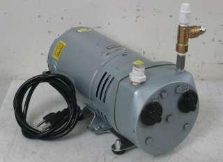Gast 0523 V191Q G582DX Rotary Vane Vacuum/Compressor Pump