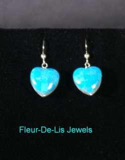 Jay King MINE FINDS Turquoise MOP Reversible Heart Earrings Sterling