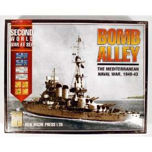 Avalanche Press Bomb Alley The Mediterranean Naval War