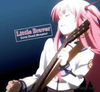 Angel Beats Anime Song CD Girls Dead Monster Little Braver