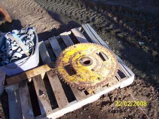 Big sprocket trencher parts ditch witch cable reel chain gear pulley