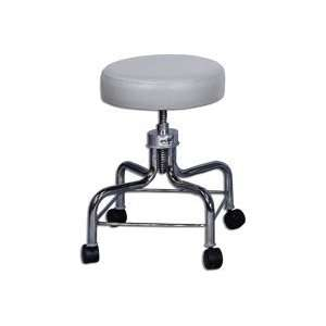 Revolving Exam Stool, Haze Grey 2 Swing wheel Swivel