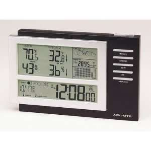 Accurite Deluxe Wather Station W/Atomic Clock Barometric