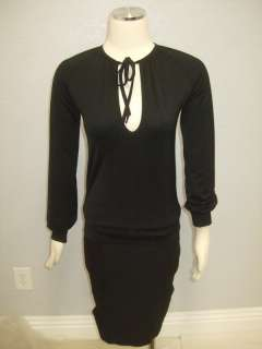 Bags Anthropologie Black Long Sleeve Tunic Blouse S