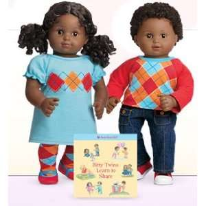 American Girl Biy wins   African American Boy and Girl wih Biy