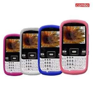 Samsung R350/351 Combo PREMIUM Feel Trans. Hot Pink Silicon Skin Case