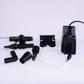 25W Adjustable Submersible Aquarium 1200 L/H Water Pump