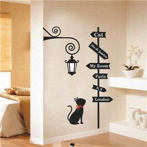 Signpost Wall Art Deco Home Decal Mural Paper Sticker Adhesive