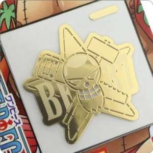 New World Metal Decoration Sticker (Pirate Flag/Franky) Toys & Games