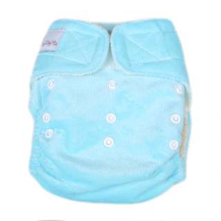 FANCYQUBE BAMBOO BABY Re Usable CLOTH DIAPER NAPPY+ INSERT