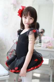 Leotard Fairy Ballet Dance Costume Tutu Princess Dress SZ 3 8Y
