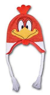 Looney Tunes Foghorn Leghorn Winter Beanie Laplander Costume Hat