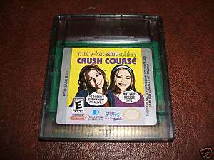 MARY KATE AND ASHLEY CRUSH COURSE ASHLY GAME BOY EX CON 021481512752
