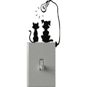 Dog & Cat Tanning   Light Switch Decals   Custom Vinyl Wall Art   Made