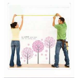 My Love grow more with the passing time Pink Loving Trees
