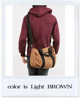 Men Canvas fabric sports side pocket shoulder cross bag