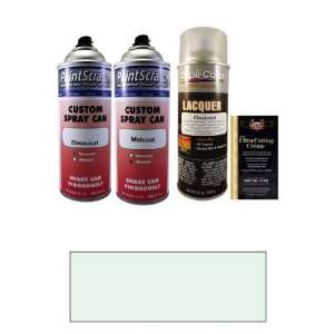Tricoat 12.5 Oz. Snow White Pearl Metallic Tricoat Spray Can Paint Kit