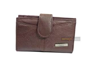 Ladies Quality Leather Purse wallet coin bag medium NEW