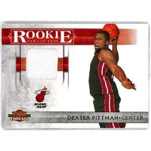 Dexter Pittman 2010  11 Panini Threads Rookie Jersey Serial