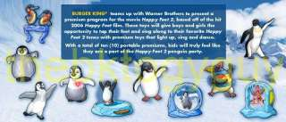 2011 Burger King HAPPY FEET 2 toys complete set of 10