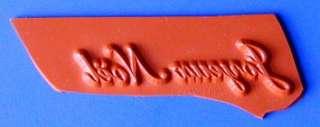 JOYEUX NOEL French Merry Christmas UM rubber stamp #11