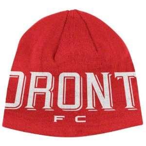 Toronto FC adidas Authentic Team Knit Hat Sports