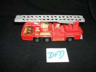 MATCHBOX Super Kings DENVER FIRE DEPARTMENT Ladder Truck FIRE TENDER